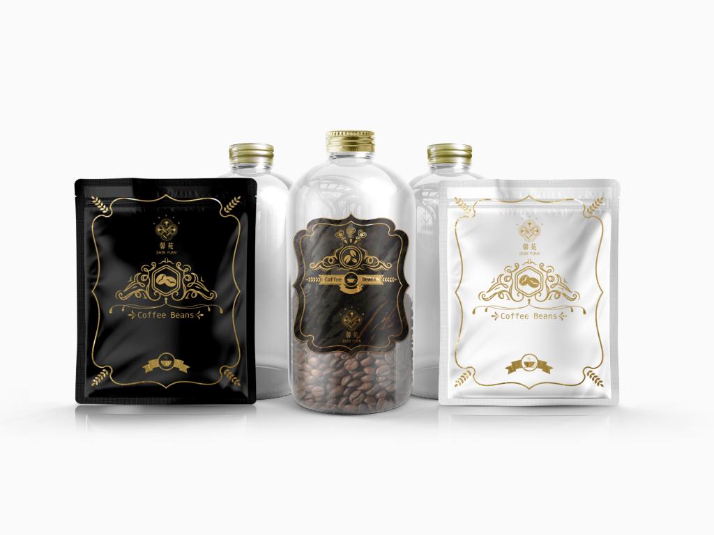 咖啡豆罐設計、耳掛式咖啡袋設計